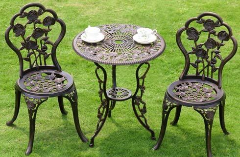 Bàn ghế cafe sân vườn ZX M525H525