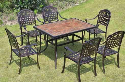 Bàn ghế sân vườn cổ điển ZX M042H0262
