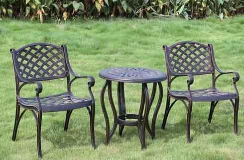 Bàn ghế sân vườn cao cấp ZX M80071H031