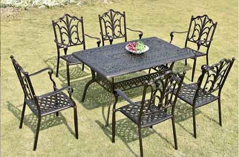 Bộ bàn ghế sân vườn ZX M150H021