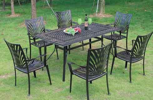 Bộ bàn ghế sân vườn ZX M17H035