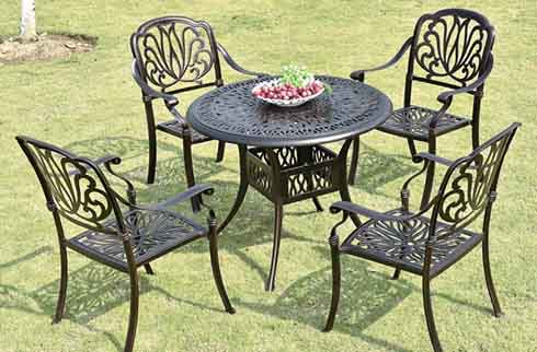 Bàn ghế sân vườn đẹp ZX M038H026